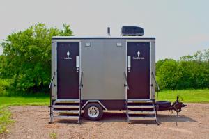 Portable Restroom Trailer Model